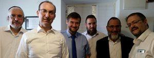 Formation donnée à une équipe de praticiens à Jérusalem