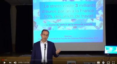 Le Stress comment y remédier ? Conférence du Dr J-L Haziza au Lycée Hélène-Boucher à Paris