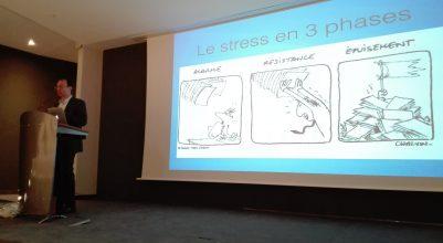 Le Stress en entreprise en 3 phases