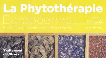 Interview pour le magazine la phytothérapie européenne